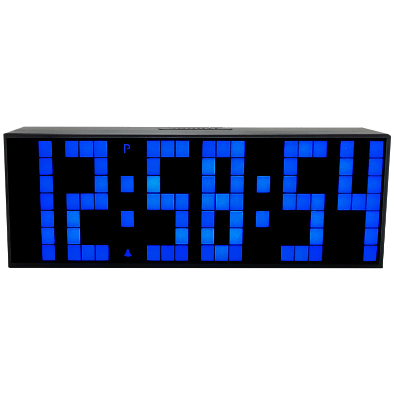CH KOSDA Big LED Digital Clock Countdown Timer Alarm Clock on Desktop Table Desk LivingRoom Electronic Clocks Home Decor