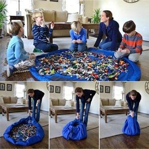 150CM Hot WaterProof Mat Baby Play Mat Washable children storage bag Picnic Game Carpet Baby rugs Crawling Mat. GH0116