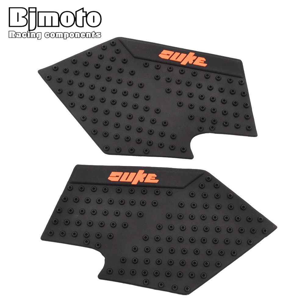 Bjmoto Motorcycle Anti Slip Sticker Tank Pad For Ktm Duke 390 13-16 Duke 200/125 Duke125 Duke200 Tankpad Knee Protection Grip In Short Supply Motorcycle Accessories & Parts