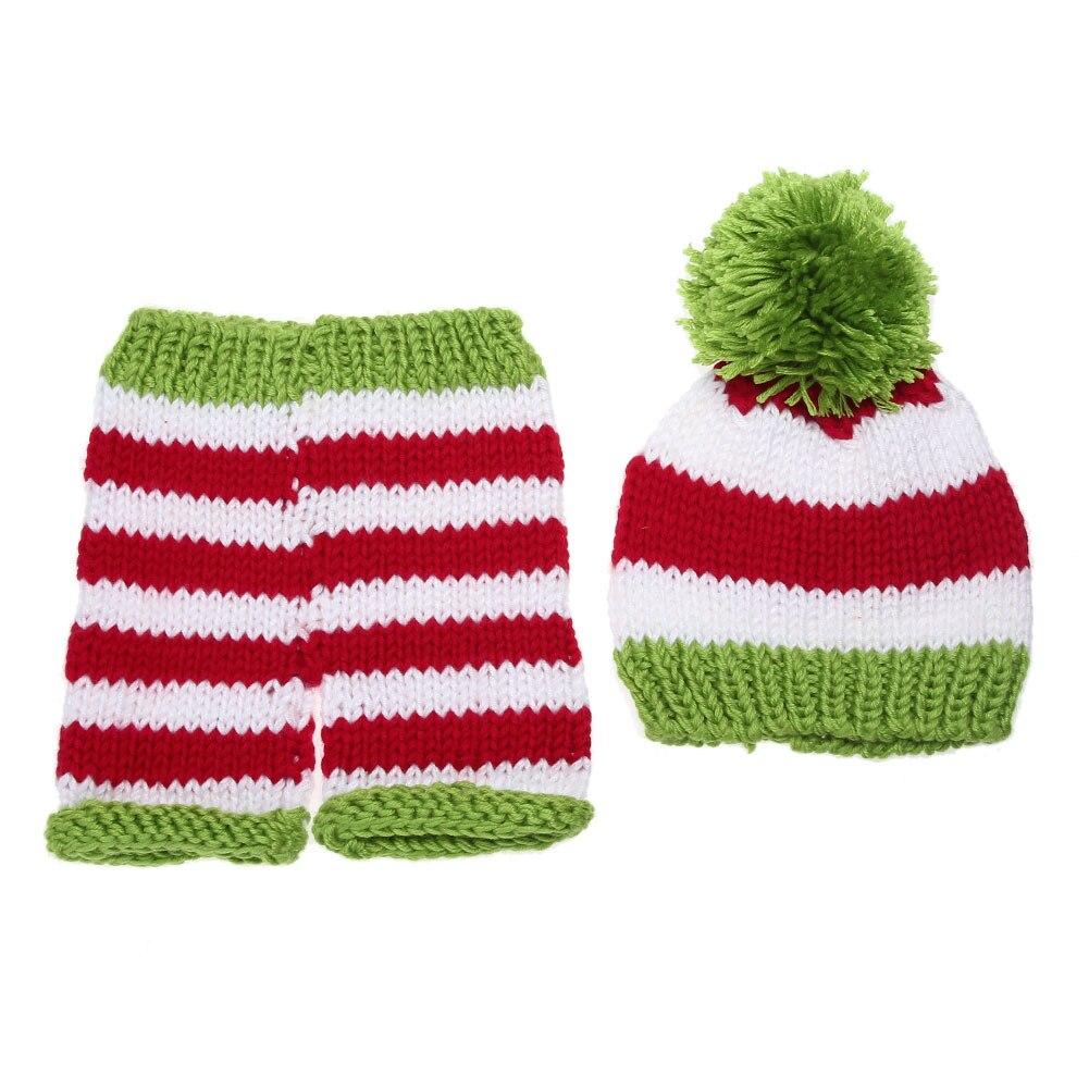 Newborn Photography Props Baby Children Striped Crochet Knitted ...