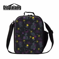 Dispalang Halloween Customiza Lunch Bag For Kids Women Food Warmer Lunch Box Insulated Cooler Storage Thermal Bag Bolso Termico