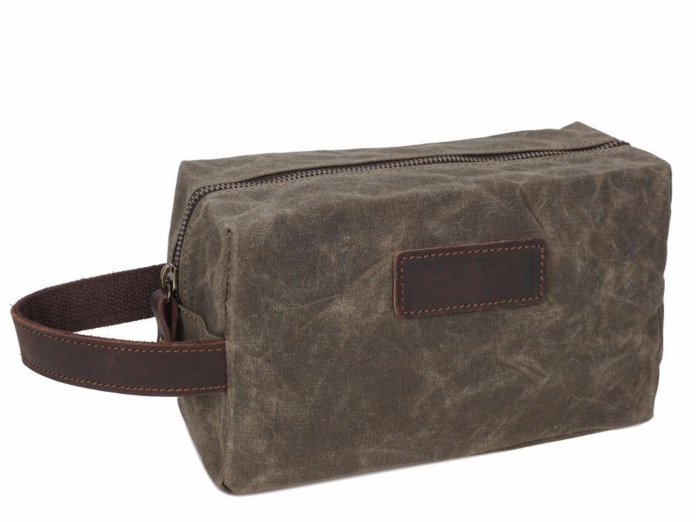 872d58c1d9dc Portable Man Travel Wash Bag Canvas Cosmetic Bags Men s Bath Make Up  Toiletry Bag Zipper Women Makeup Organizer Necessaries Case