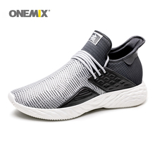Onemix Men Running Shoes for Black Mesh boots Breathable Designer Jogging Sneakers Outdoor Sport Walking Trainers hot sneakers men and woman rapid response boa lacing system men sports shoes breathable mesh running for women trainers jogging