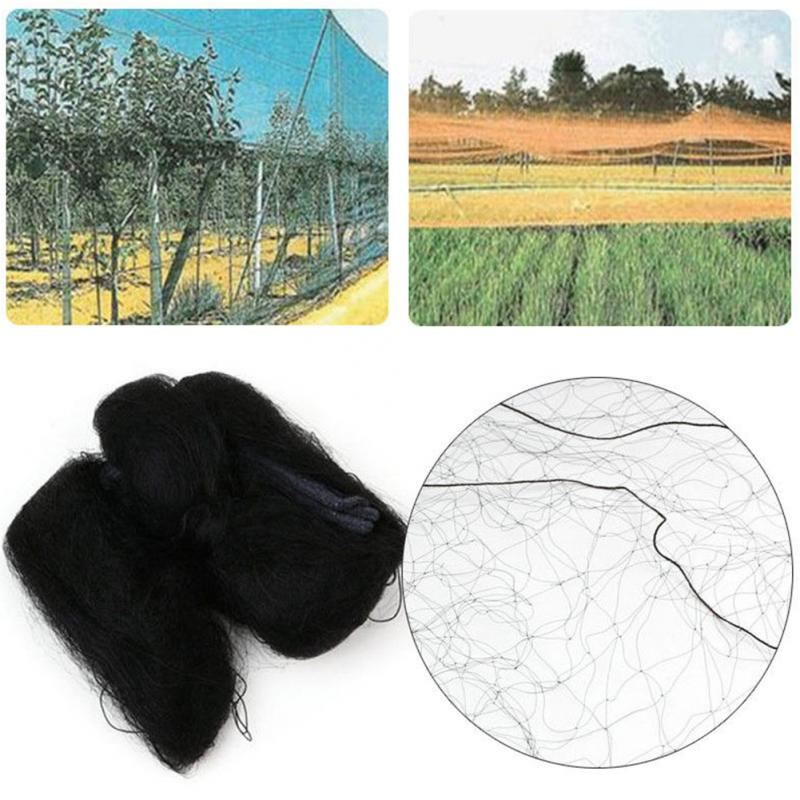 Nylon Anti Bird Mist Netting Net Orchard Plant Fruit Agricultural Mesh 8 X 3m / 15 X 3m Mesh Garden Pest Control Accessories