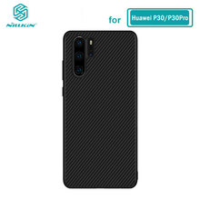 Huawei P30 Pro Case Nillkin Synthetic fiber Carbon PP Plastic Iron Magnetic Case for Huawei P30 Pro Cover