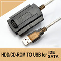 "3-in-1 USB 2.0 To IDE / SATA 2.5"",3.5"" Hard Drive Disk HDD SSD 480Mb/s Data Interface Converter Adapter Cable"