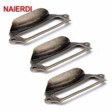 Старинная латунная металлическая этикетка naierdi 5 шт тянущаяся