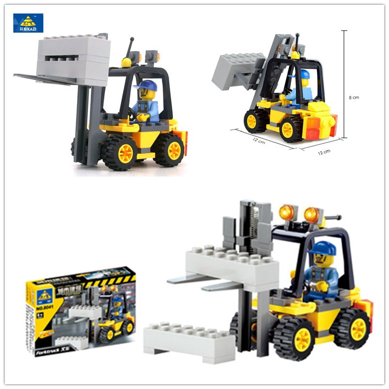 KAZI Enlighten City Forklift Engineering Engineering բլոկը 70 - Կառուցողական խաղեր