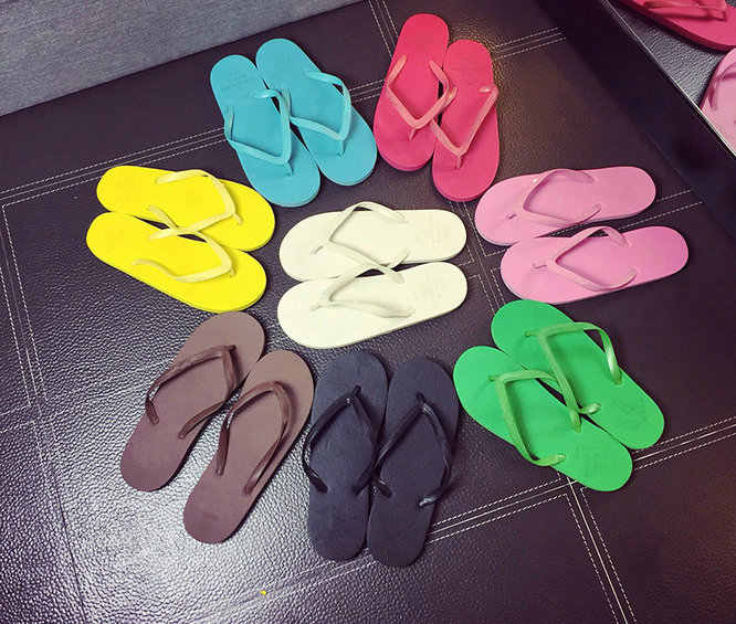 f92564f855 Women's Sandals Summer brand Beach Flip Flops Lady Slippers Women Shoes  Summer Sandals for Women Flat Heel Casual Free Shipping