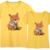 Mujeres/Hombres Zootopia Camiseta 2017 Nuevo Verano Super Lindo 3D patrón de Zorro de Impresión Camisetas de Manga Corta de Judy Nilk Parejas Camiseta Mujer