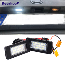 Canbus Luz LED de matrícula blanca, decodificador para Skoda Octavia 3 MK3 MKIII 2013 + Combi sedán para Rapid 2013 + para Yeti 5L 2009 +