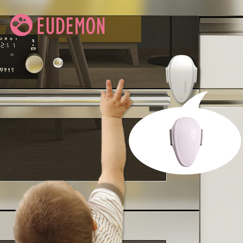 EUDEMON Baby Oven Door Lock For Kitchen Child Safety Locks Children Protection Kids Safety Care Drawer Cabinet Cupboard Lock(China)