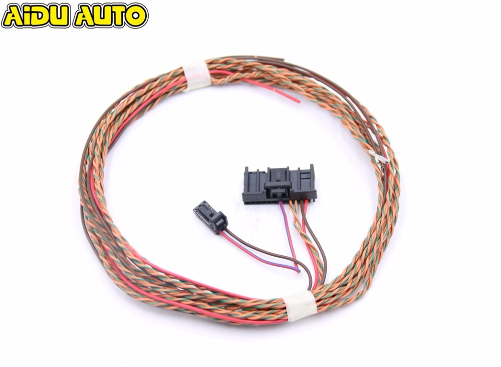 Lane assist Lane keeping system Wire/cable/Harness For VW Passat B6 B7 CC GOLF 6 JETTA Tiguan UPGRADE intelligent auto parking assist park assist pla 2 0 for vw passat b7 cc 3aa 919 475 s 8k to 12k