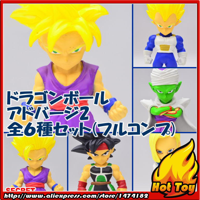 Original BANDAI Tamashii Nations ADVERGE 02 Collection Toy Figure - Vegeta Piccolo Android #18 Barduck Gohan Dragon Ball Z 100% original bandai tamashii nations buddies no 015 collection figure vegeta from dragon ball z