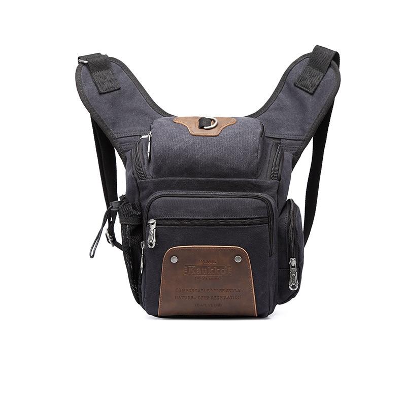 2017 Wear-resisting Black Canvas Men's Satchel Holiday Travel Inclined Shoulder Bag for Tablet PC Camera Hike Travel Photography dollice dr 655 canvas camera bag black as domke f7