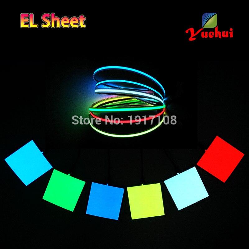 2017 Altı Renkler Sıcak Sales10X10CM EL Levha EL Paneli için - Tatiller ve Partiler Için - Fotoğraf 5