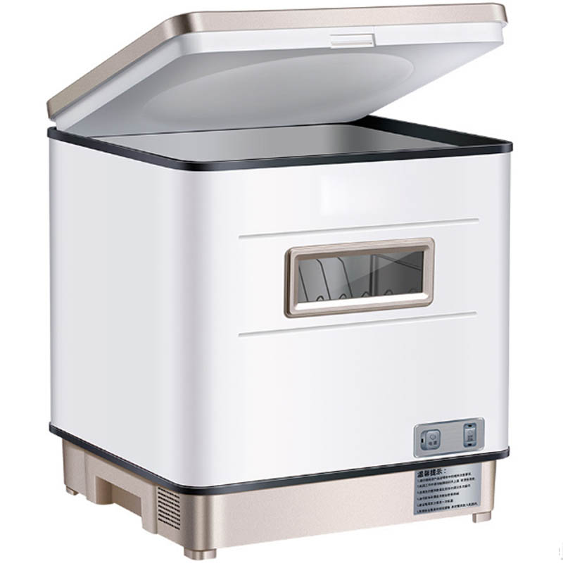 Automatic Dishwasher Small Home Use Desktop UV High Temperature Sterilization Dish Washing Machine Dish Washers Kitchen 220V 2KW