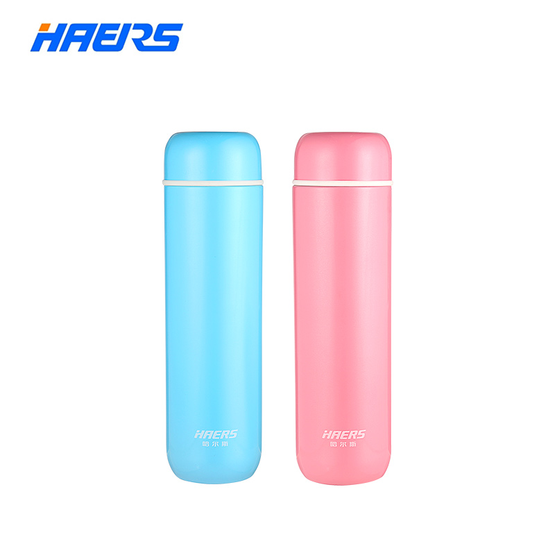 Haers Candy Color Coffee Thermos Cup Stainless Steel Vacuum Insulated Bottle for Hot/Cold Beverage 200ml/300ml