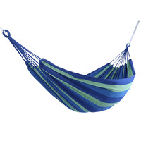 2017 Red Blue Canvas Stripe Hang Bed Hammock Outdoor Hammock Garden Sports Home Travel Camping Swing