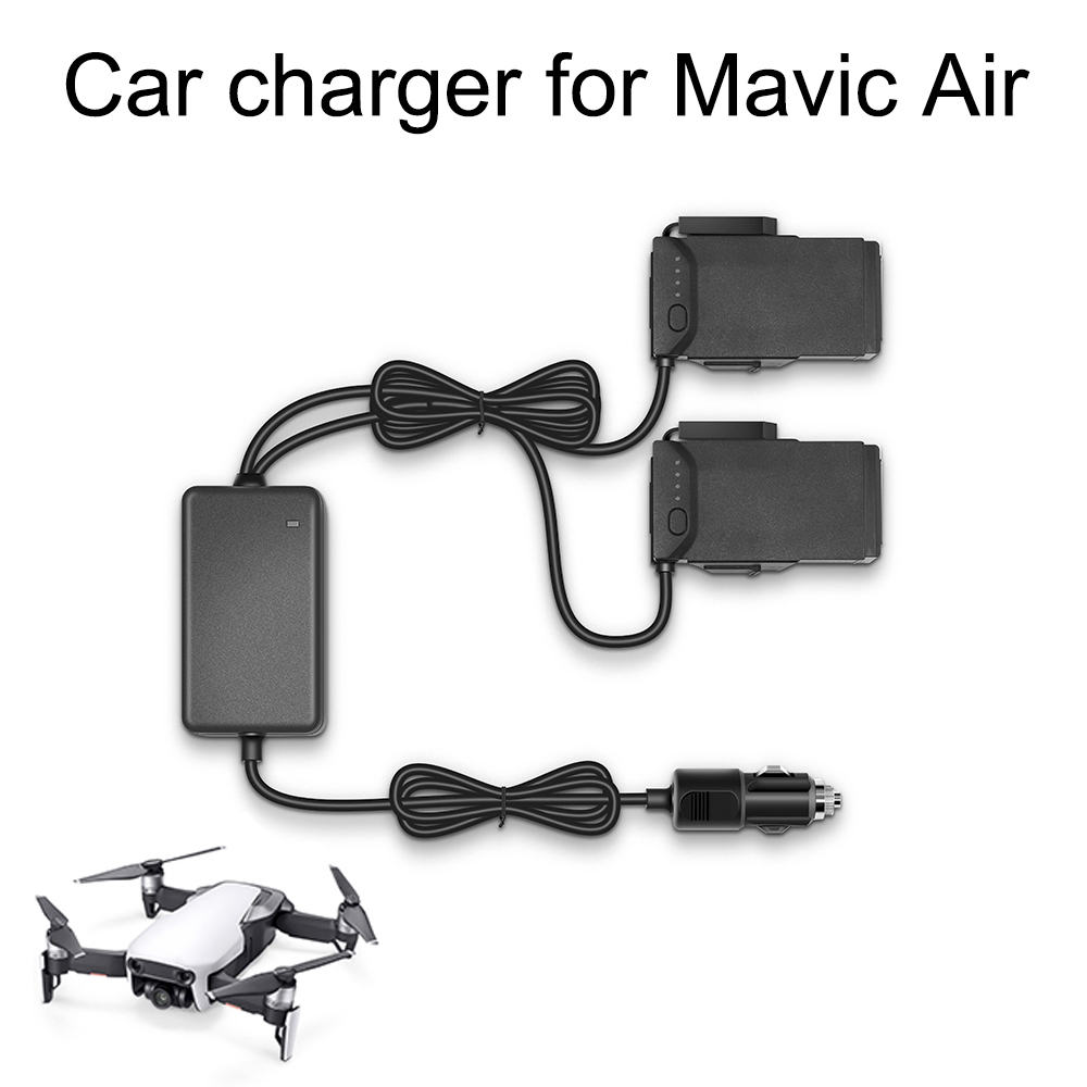 Car Charger For DJI Mavic Air Drone Flight Battery Fast Charging Travel Charger Transport Outdoor Portable Accessory Mini