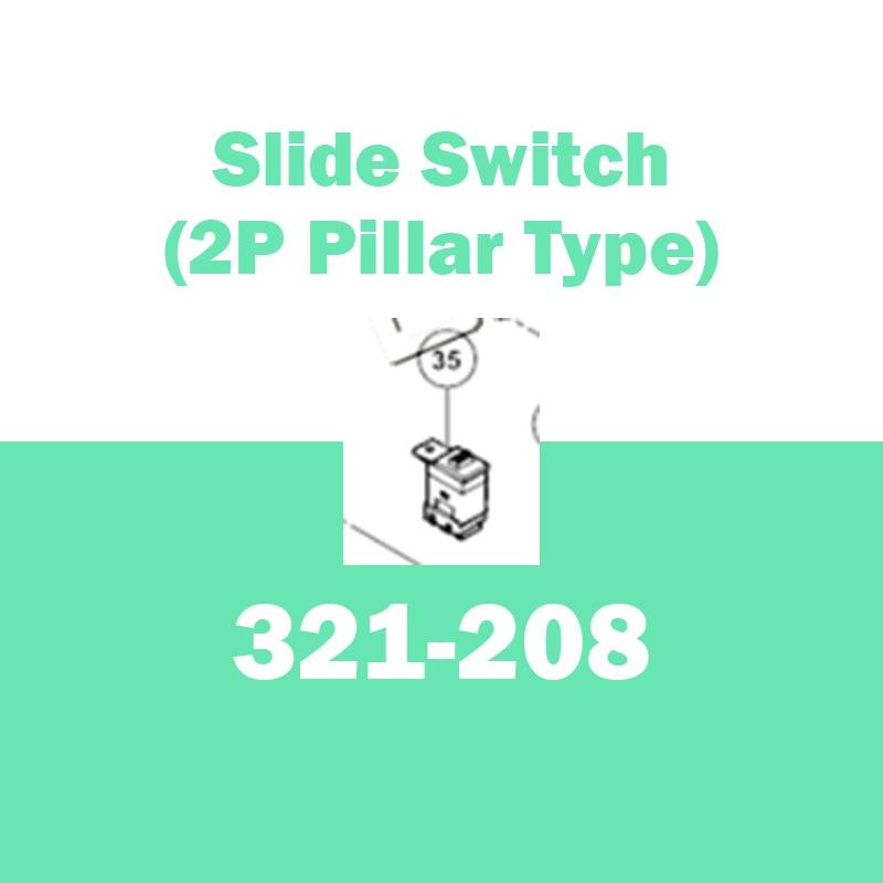 Genuine SLIDE SWITCH for Hitachi 321208 GP2S2 G13SD G12S2 G10SD2 Hand Grinder hitachi g13sd