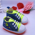 Kids Shoes Baby first walker Infant Girls Butterfly denim Shoes Soft Sole Canvas Shoes Booties For Newborns Prewalker 0-1Y