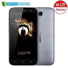 Ulefone U007 Pro смартфон 5.0 дюймов HD 1280×720 MTK6735 4 ядра Android 6.0 1 ГБ Оперативная память 8 ГБ Встроенная память 8MP Камера  двойная сим карта 4G телефона