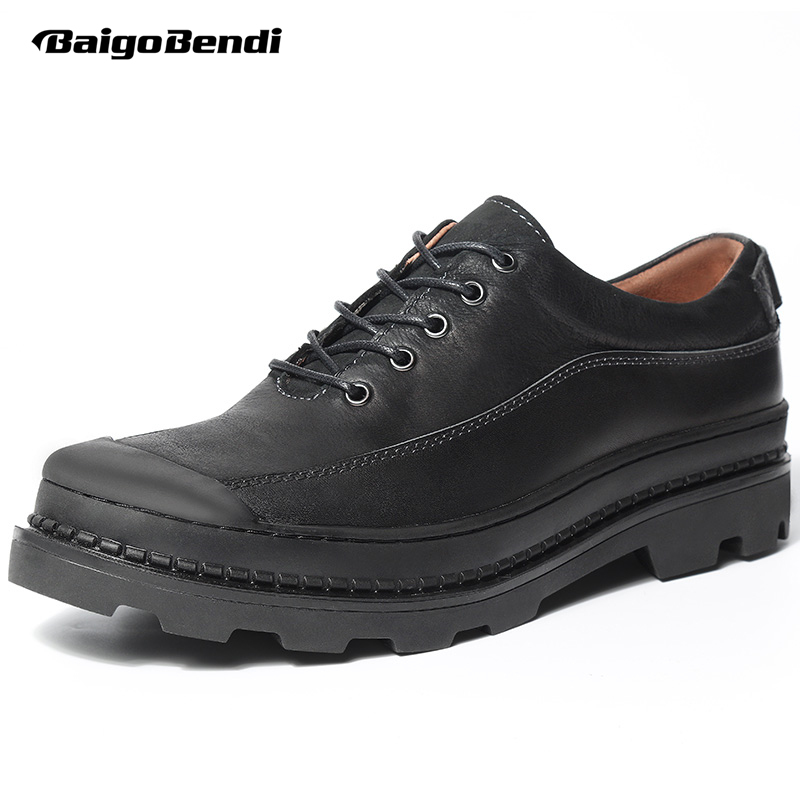 High-end Mens Heightened Shoes Genuine Leather Thick Heel Casual Oxfords Business Man Height Increase Wedding Shoes top quality crocodile grain black oxfords mens dress shoes genuine leather business shoes mens formal wedding shoes