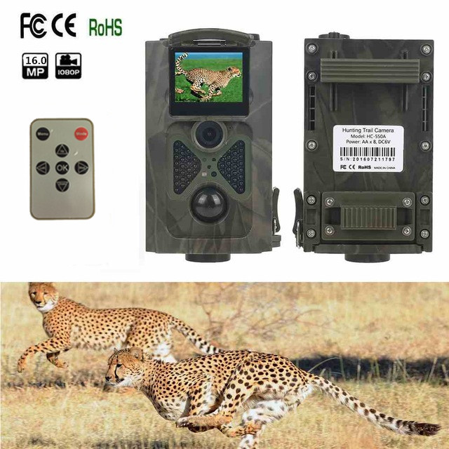 Hunting Camera Security HC550A 16MP 940NM Wildlife HD Digital Infrared Scouting Trail Camera Night Vision 1080P Video RecorderHunting Camera Security HC550A 16MP 940NM Wildlife HD Digital Infrared Scouting Trail Camera Night Vision 1080P Video Recorder