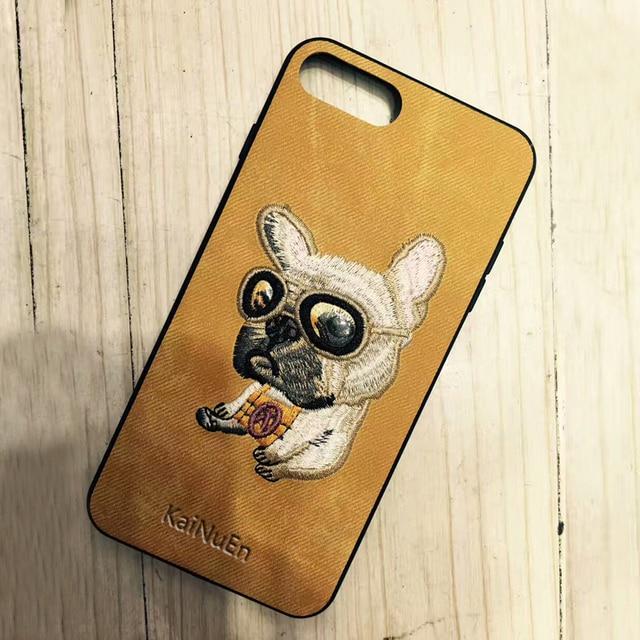Чехол для iPhone 7 с вышивкой | Aliexpress
