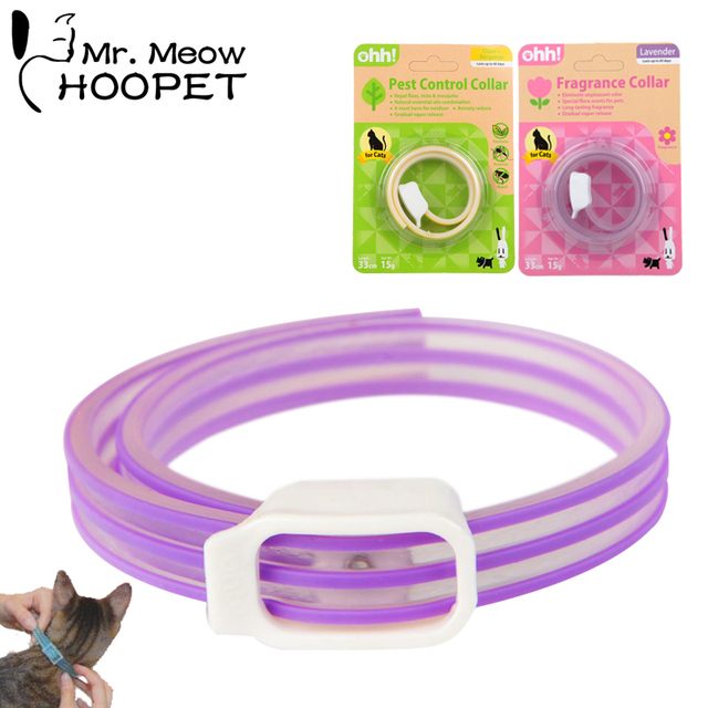hoopet cat flea collars natural essential oils pets control collar clove and lavender in cat. Black Bedroom Furniture Sets. Home Design Ideas