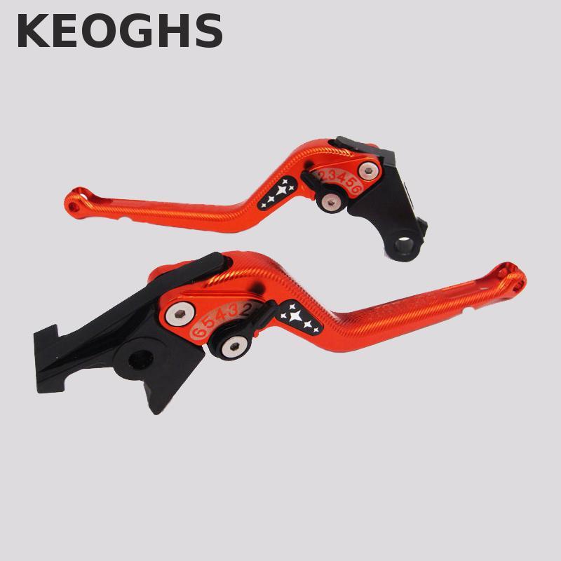 Keoghs 3D ЧПУ тормозные рычаги сцепления 175мм Регулируемый для Honda Cb600f Шершень 2007-2014