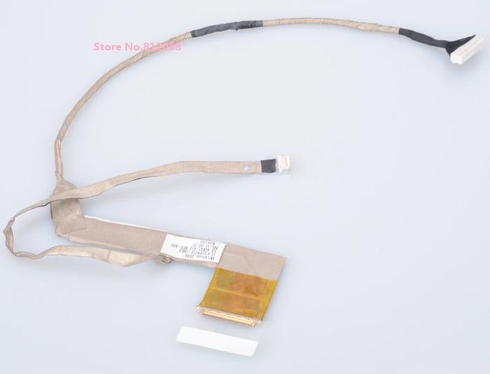все цены на  WZSM Wholesale NEW Laptop LCD Screen Display Flex Cable For HP PROBOOK 4520S 4525s 4720s P/N 50.4GK01.012  онлайн