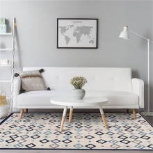 Nordic minimalist geometric area carpet living room sofa coffee table full bunk bedroom bedside childrens rug home mat