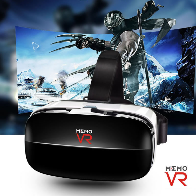 New arrival VR BOX MEMO V6 3D Immersive Virtual Reality Headset Google Cardboard for 4.5-6.3 Smartphone vrbox Bluetooth control