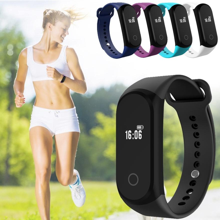Monitor Cardiaco A16 Bluetooth Smart Watch Health Wrist Bracelet Heart Rat e Monitor Smart Wristband Blood