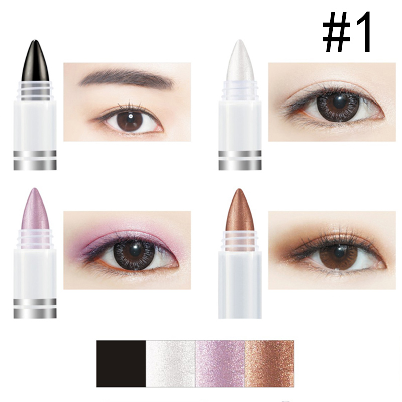 Beauty Health Expert  4 Colors/Set Long Lasting Eyebrow Pomade Gel Eyeshadow Pencil Beauty Eye Makeup Eyebrow Gel Pomade M03906