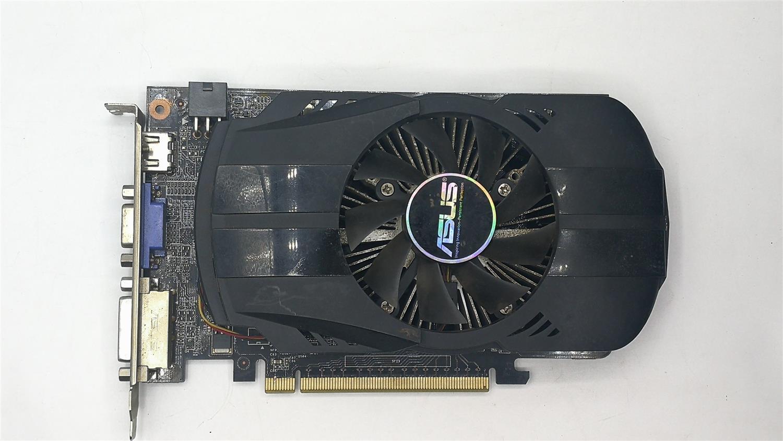 Usado, original ASUS GTX 650 GPU da placa gráfica 1 GB de MEMÓRIA GDDR5 128BIT Cartão VGA nVIDIA para jogos de PC Mais Forte do que GT630, GT730