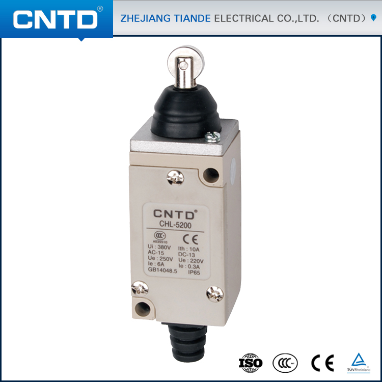CNTD 360 degree Stainless steel Roller hydraulic 12V Mini Limit Switch with 500000 service times (CHL-5200) какое авто можно до 500000