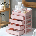 Baffect Colorful Multi-layer Plastic Makeup Drawers Storage Box Jewelry Container Make up Organizer Case Cosmetic Office Boxes