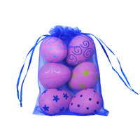 1 Of 6 Pack Latex PrePack Cat Ball Toy Egg Shape Cats Interactive Toys For Fun
