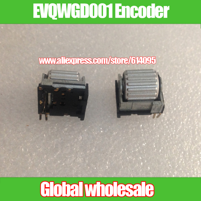 2pcs EVQWGD001 Encoder for Panasonic with wheel with switch 6 feet