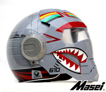 Личность мотоциклетный шлем мужчины Подлинной и женщины утюг 610 человек ретро высокого класса off-road мотоцикл F4