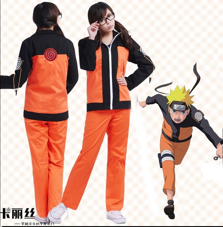 Hot Sale Japanese Anime font b Naruto b font Uzumaki Uniform Hokage font b Cosplay b