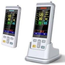الرعاية المنزلية/عيادة يده إشارات حيوية رصد مراقبة المريض المحمولة spo2 رصد مراقبة مقياس التأكسج المحمول لقياس النبض