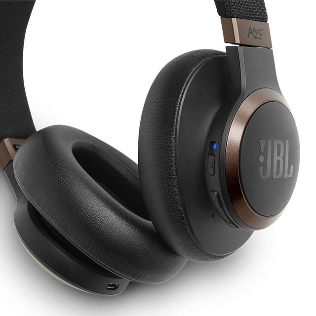 JBL LIVE 650BTNC Bluetooth Headphones Audio Noise Cancelling AI Smart Voice Wireless Headphone Cell Phone Dynamic Gaming Headset