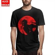 Crimson Moon Bleach Kurosaki Ichigo T Shirt Unisex 2019 New Arrival 100% Cotton S-6XL Homme Tee