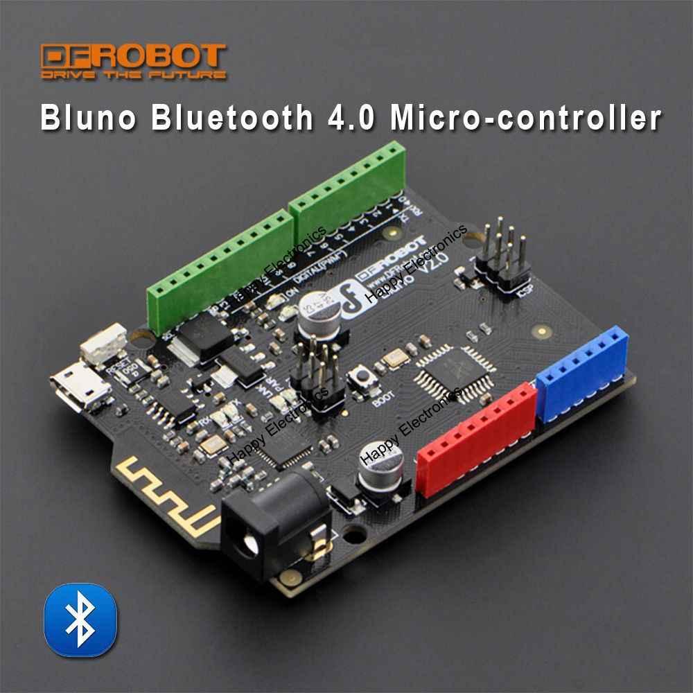 DFRobot Подлинная плата микроконтроллера Bluno, Atmega328 BLE TI CC2540 чип Встроенный Bluetooth 4,0 совместим с Arduino Uno