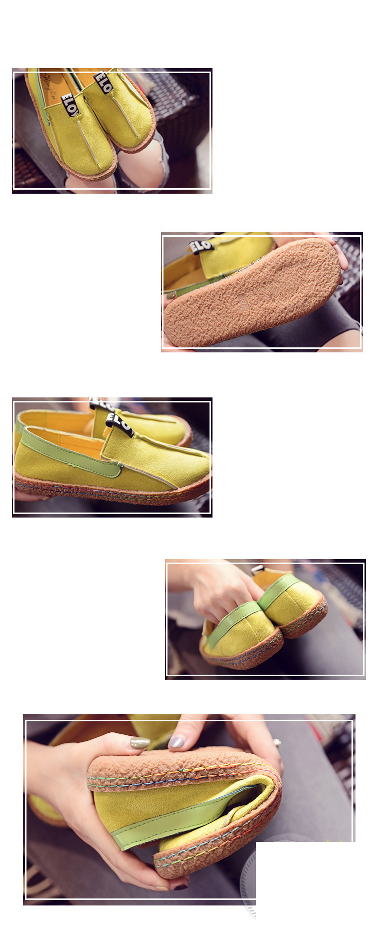 Slip On Women Loafers Fashion Summer Women Flats Plush Size Moccasins Round Toe Flock Casual Shoes 2019 Zapatos Mujer VT226 (6)