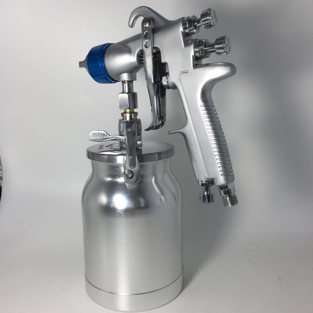 SAT0081 New professional Suction Feed Spray Gun LVMP Car Paint Gun Painted High Efficiency High Quality Spray Gun Sprayer sat500 lvmp spray painting gun high pressure spray bottle cup gun paint sprayer